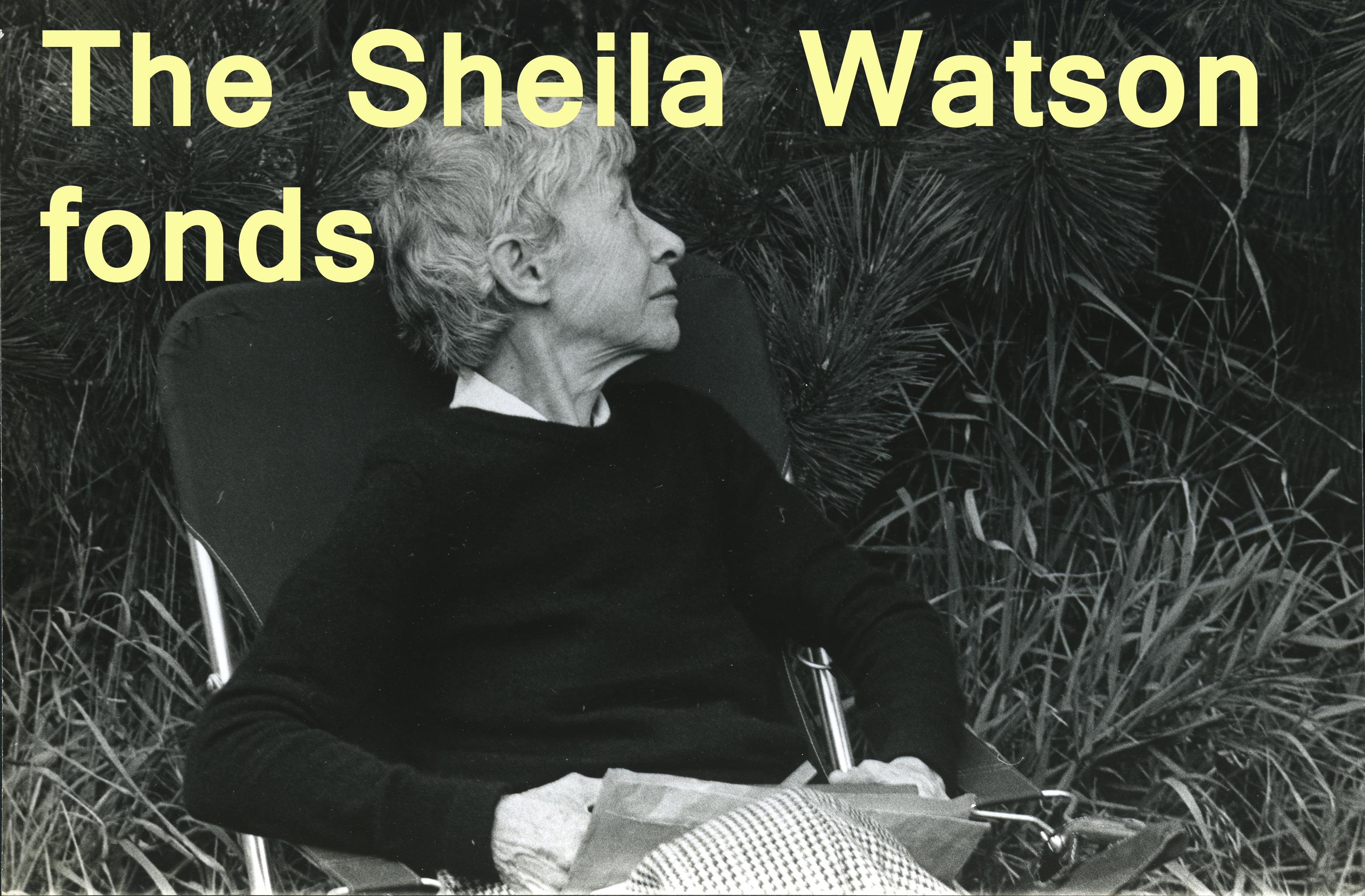 Sheila Watson fonds