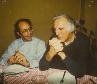 Photograph of Nouwen and Jean Vanier