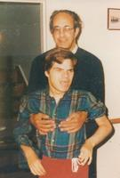 Photograph of Nouwen and Adam Arnett