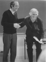 Photograph of Nouwen and Jean Vanier