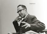 Photograph of Nouwen at the Menninger Clinic