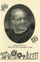 Funeral program from September 28, 1996 service