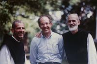 Photograph of Fr. John Eudes Bamberger, Nouwen and Br. Christian