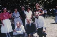 Photograph of Nouwen with family
